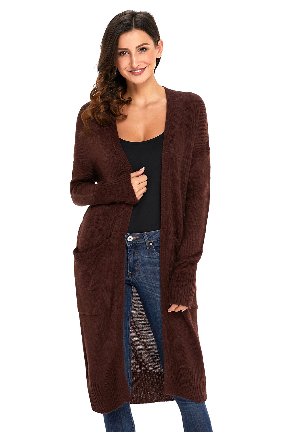 drapes knitwear products front lafayette open enlarged women cardigan draped clothing