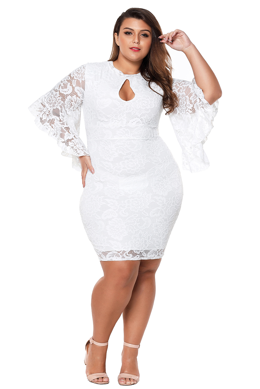 33eb1d9be9f White Plus Size Dress – Fashion dresses