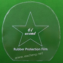 61second Table Tennis Rubber Protection Film