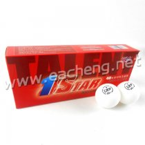 10x RITC 729 1 Star 40+ New Materials White Table Tennis Ball