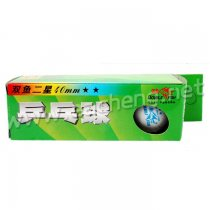 Double Fish 2-star 40mm Table Tennis Ball 3 balls/each box