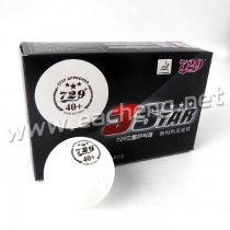 6x RITC729 3 Star 40+ New Materials White Table Tennis Ball