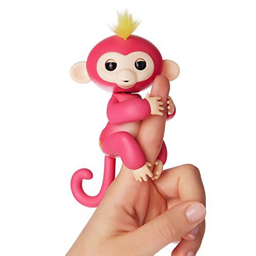 FINGERLINGS - INTERACTIVE BABY MONKEY - BELLA (PINK)