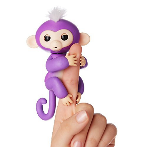 FINGERLINGS - INTERACTIVE BABY MONKEY - MIA (PURPLE)