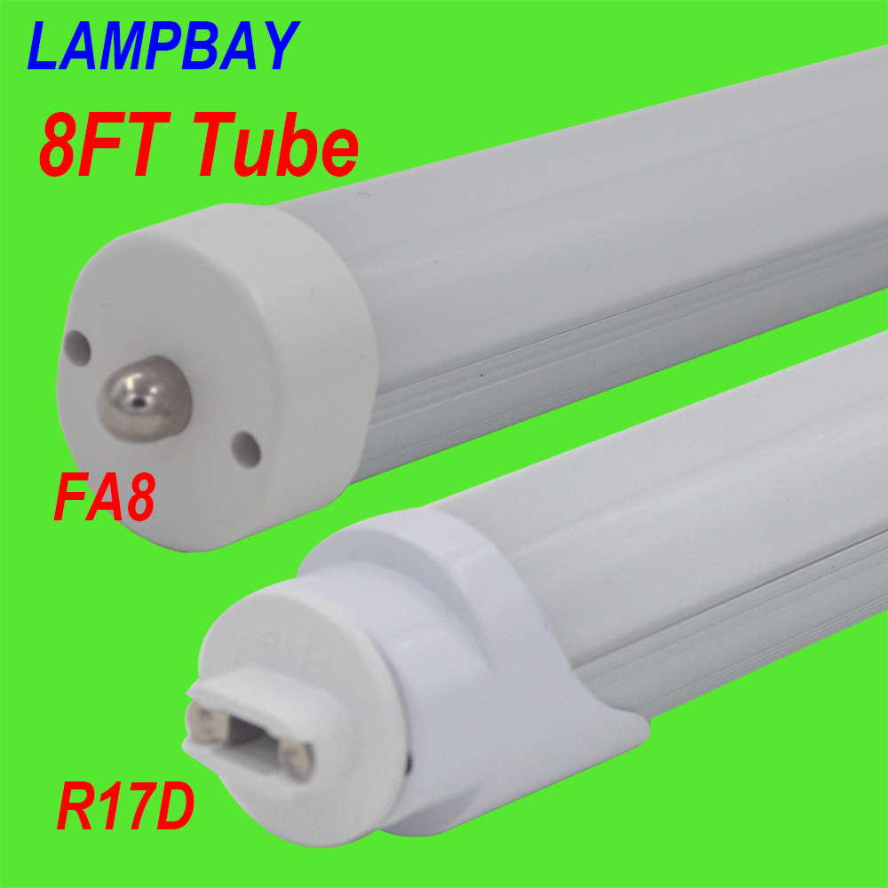 LED Tube bulb 8FT F96 40W FA8 single pin R17D HO replace to existing R D Led Tube No Ballast Wiring Diagram on