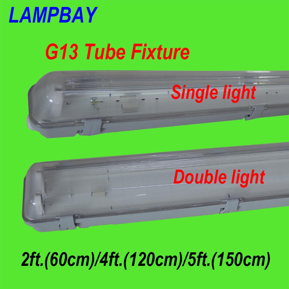 G13 Tube Fixtures 2ft.(60cm) 4ft.(120cm) 5ft.(150cm) water proof ...
