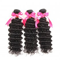 South Africa Popular Style Brazilian Deep Wave Hair 300g