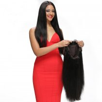 Full Lace Wig Brazilian Silky Straight