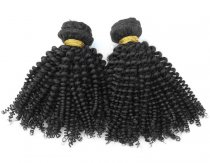 Best Price  Malaysian Kinky Curl Virgin Hair 2pcs