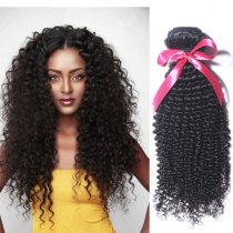 Factory Price Mongolian Deep Curl Virgin Hair 100g