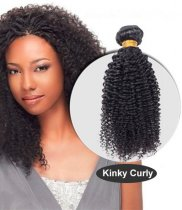 New Fashion Mongolian Kinky Curl Weave 1pc