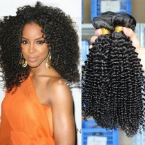 Mongolian 200g Deep Curl Virgin Hair Weaves