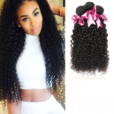 Affordable Brazilian Curly Virgin Hair 3pcs