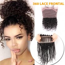 360 LACE FRONTAL CURLY STYLE