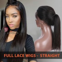 9A FULL LACE WIG STRAIGHT