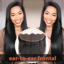 180 Straight Lace Frontal (Ear-to-Ear)
