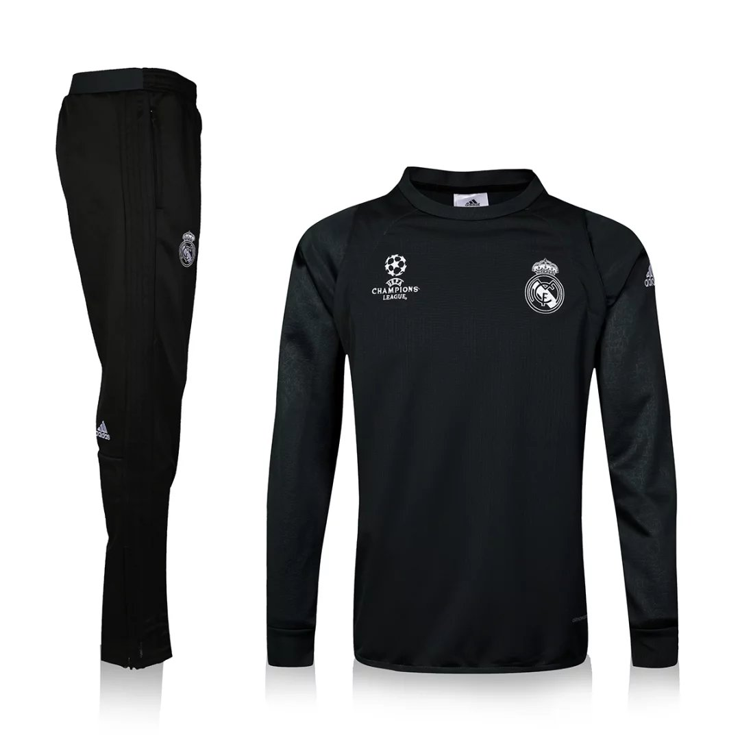 7e481bafc37 REAL MADRID soccer tracksuit 2017 Survetement football training suit  jogging skinny pants chandal soccer jerseys Item NO: FCB013