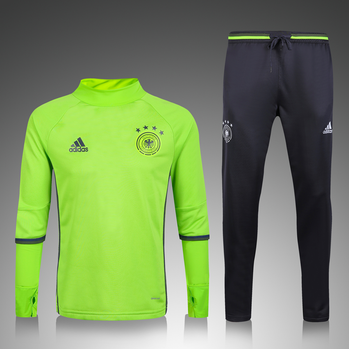 GERMANY 2016 new soccer tracksuit football Tracksuit training suit football  kits Sportsweartraining maillot Soccer Jerseys best quality 393914e314d7b
