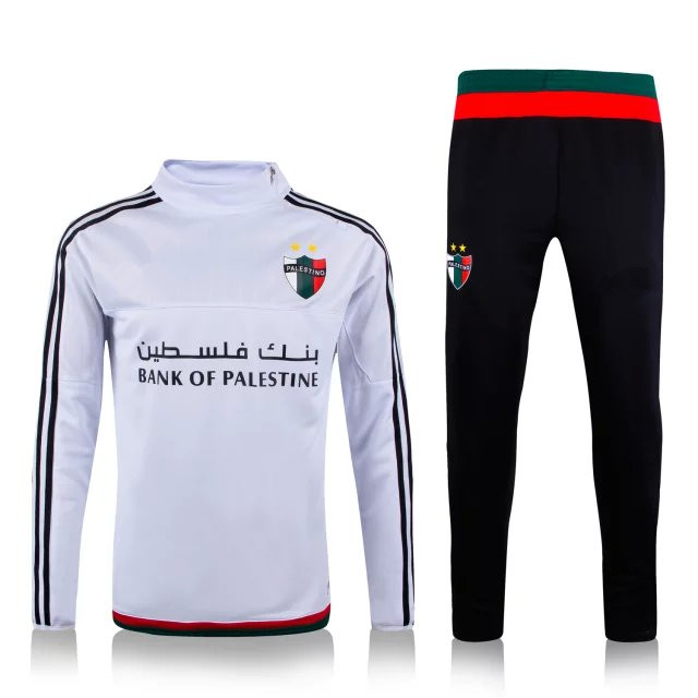Palestine Euro cup Survetement Football Training suit soccer tracksuit  football chandal training Jogging pants Item NO  PAL003 64985ae158411