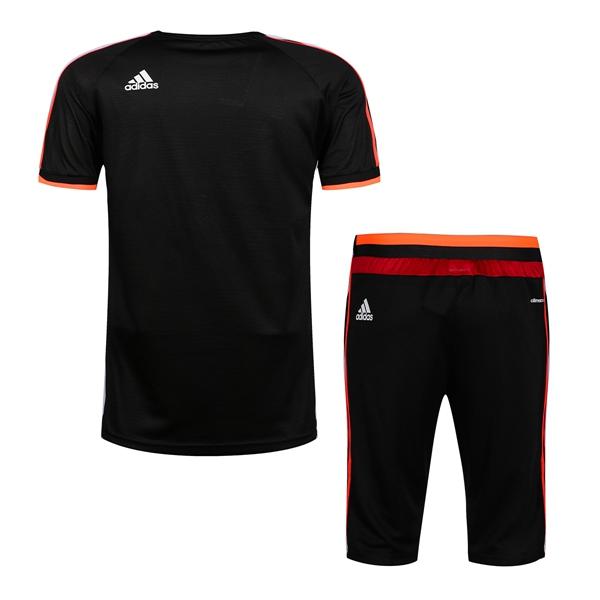 730d4a3349a43 Manchester United UEFA CHAMPIONS LEAGUE adidas black 2016 maillot de ...