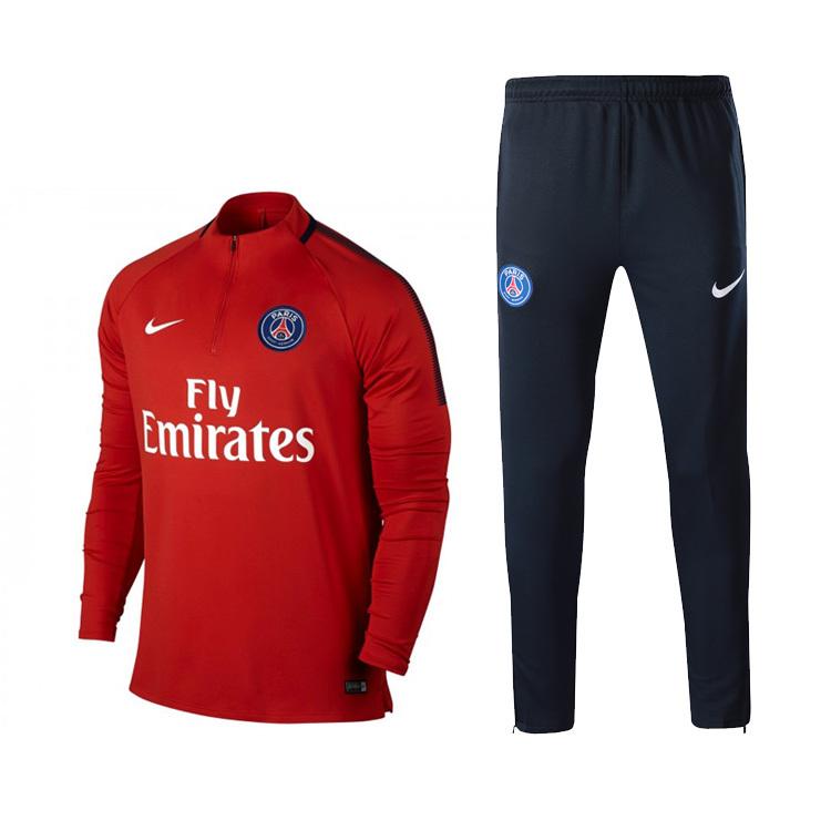 f3730db8e59b9 PSG NIKE RED soccer tracksuit maillot football Tracksuit jogging ...