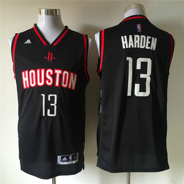 8b5c58df7 Houston Rockets NO.13 James Harden Embroidery NBA Jersey Basketball ...