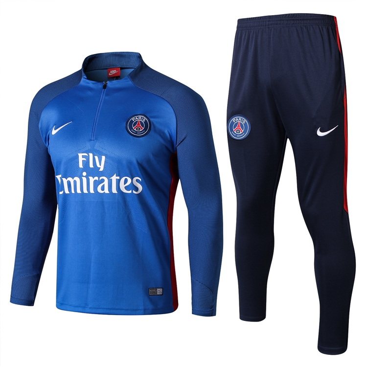 2017-18 PSG PARIS NIKE MAILLOT DE FOOTBALL TRACKSUIT SOCCER TRAINING SUIT  JERSEY PANTS Item NO  666891 8c006076d8799