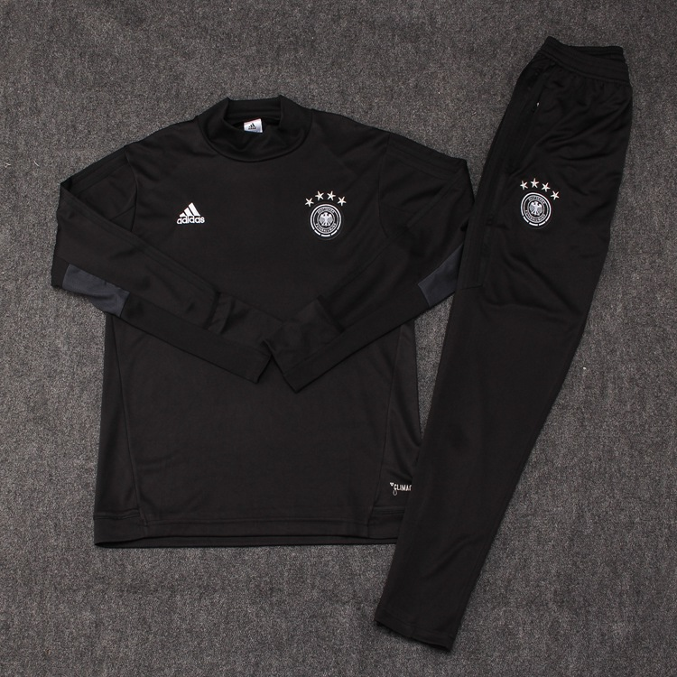 2017-18 GERMANY ADIDAS CHANDAL DE FOOTBALL TRACKSUIT SOCCER TRAINING SUIT  JERSEY PANTS Item NO  666890 85f8f3232c579