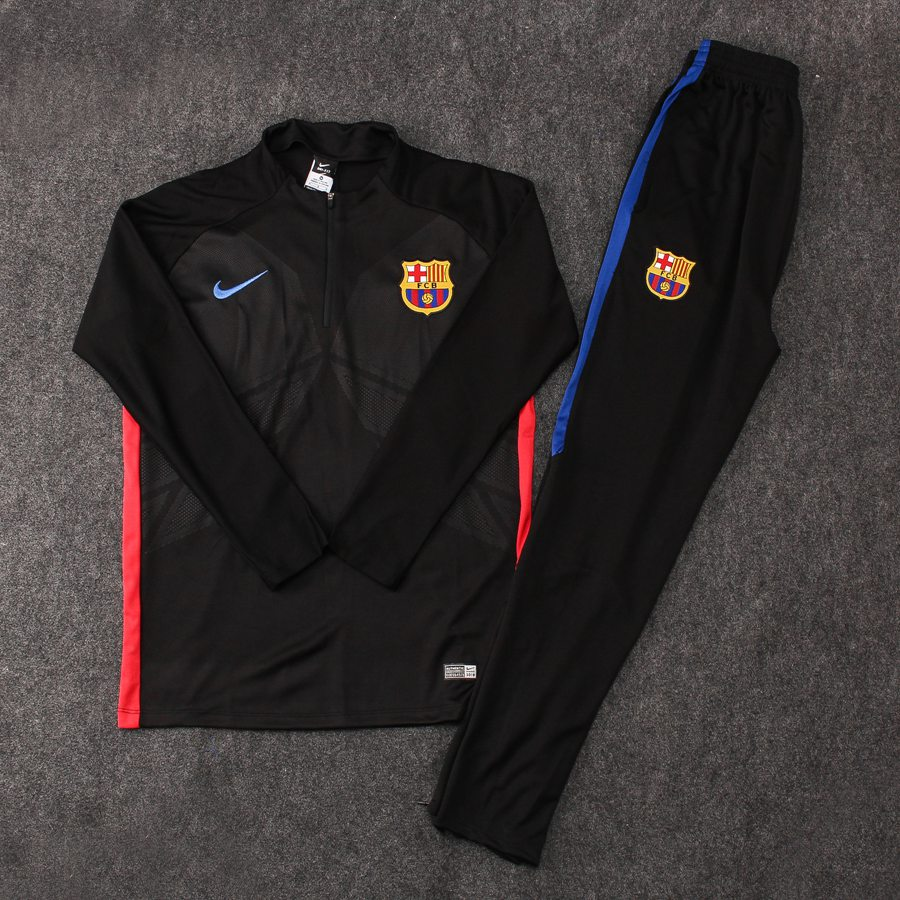2017-18 Barcelona NIKE Football Tracksuit Chandal Soccer Training Suit  Jersey Pants Item NO  666719 642305b3f2ee1