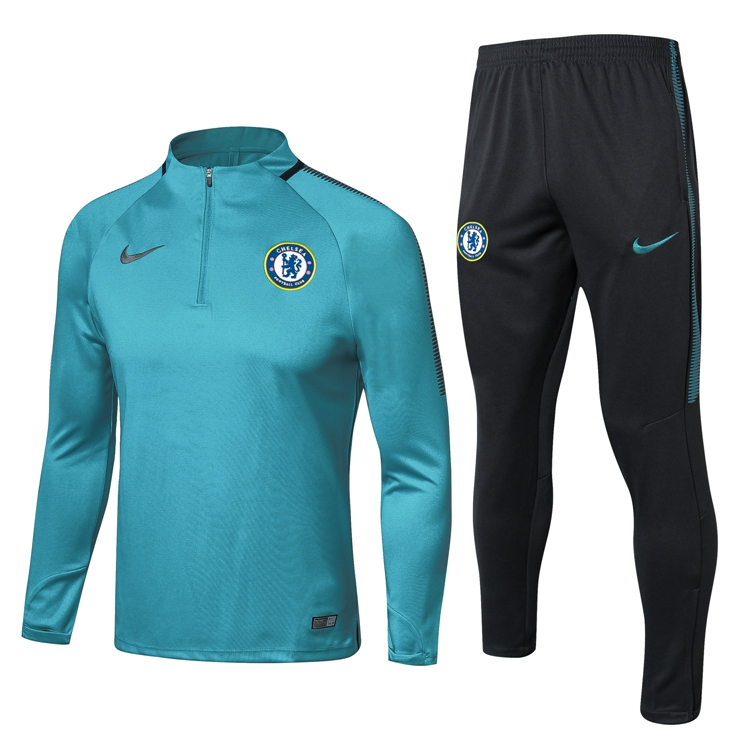 2017 18 Chelsea NIKE Foot Football Tracksuit Soccer Training Suit Chandal de  Foot Jersey Jogging Pants Item NO  672389 ee1fed0ad591a