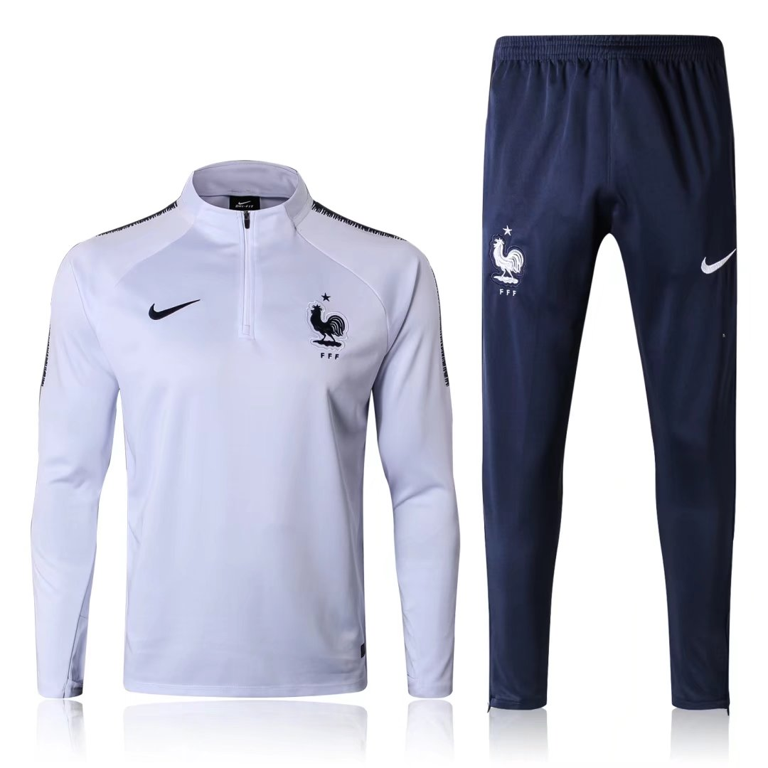 2018 FRANCE SOCCER TEAM WORLD CUP MEN S TRACKSUIT FOOTBALL SURVETEMENT NIKE  JERSEYS TRAINING SUIT Item NO  F0001 3d75f3493