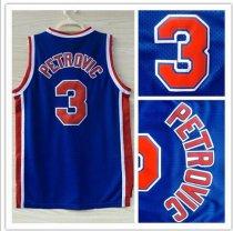 4dadcee37d2 Brooklyn Nets NO.3 Drazen Petrovic NBA Jersey Basketball Shirt Vests Sport  Clothes