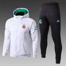 2018 19 Real Madrid adidas Football Tracksuit Hoodie Zipper Jacket Jogging  Pants Soccer Training Suit 43d3033ed