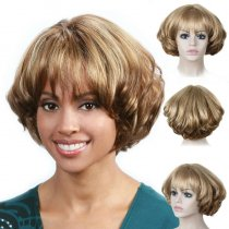 Fashion Fluffy Short Wigs