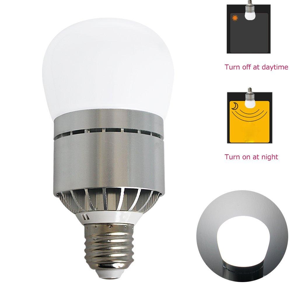 Rowrun LED 12Watts Light Sensor Bulb Light-operated L& Automatic Switch On-demand Lighting Energy Saving 24/pcs Leds 2835SMD 1000LM E26/E27 ...  sc 1 st  Rowrun-LED Light & Sensor Bulb
