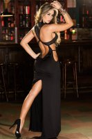 Racer Back Gown L5104