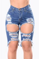 Angel In Blue Disguise Shorts L539