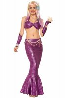 Purple Mermaid Costume Set L15386-2