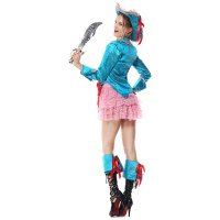 4 Piece Pirate Costume 1066