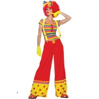 Moppie the Clown Adult Costume
