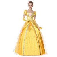 Deluxe Belle Princess Costume