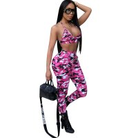 Ultra Camo Pants Set (Pink)