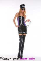 Tough to Please Police Costume L15256