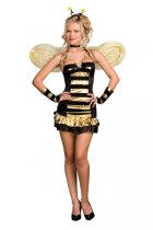 Getting Busy Bee Costume