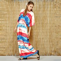 Kaftan Maxi Beach Dress L38487