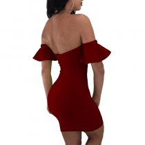 Sexy Sweetheart Bandage Bodycon Dress With Details