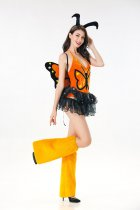 Women Sexy Monarch Butterfly Costume