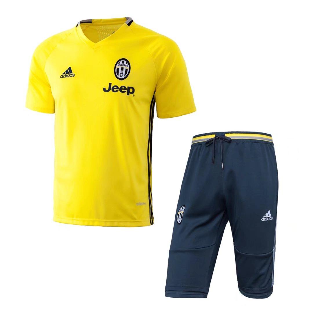 47d40bc7605 us  27.8 - juventus short training suit yellow 2016 17 - www us  27.8 –  juventus short training suit yellow 2016 17 ...