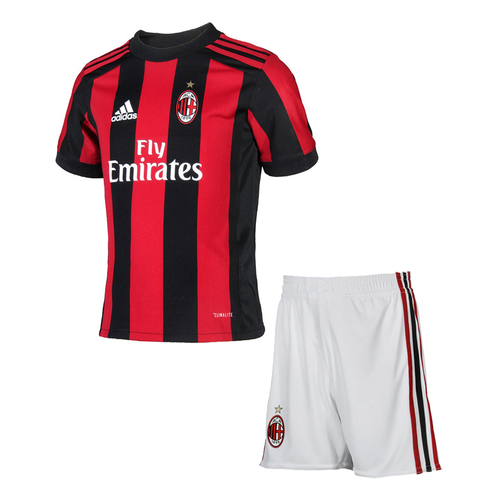 best website 6ce32 8fefe AC Milan Home Jersey Kids 2017/18