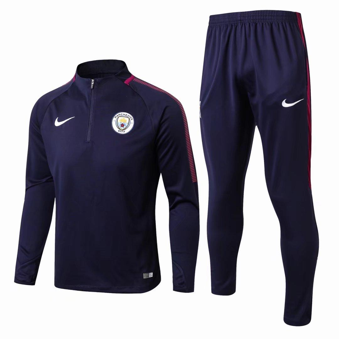 b93b8bef6 US$ 34.8 - Manchester City Training Suit Royal Blue 2017/18 - www ...